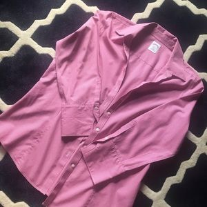 Brooks Brothers Pink Gingham Button Down Size 12